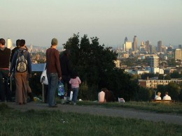 Panorama from Hampstead Heath