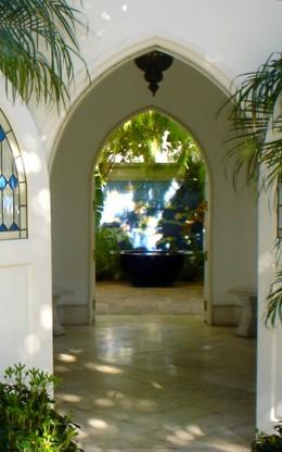 Step through the doorway