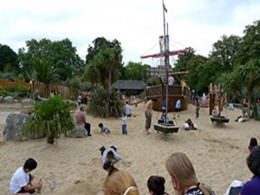 Children's play area in Hyde Park