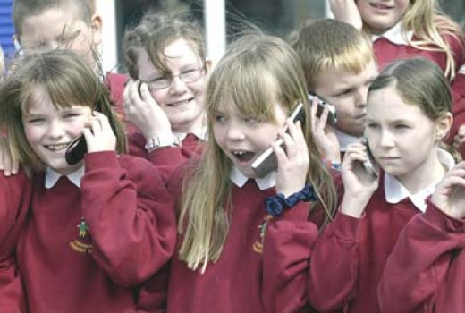 Children are more vulnerable to cellular phone radiation due to having thinner bone structure.