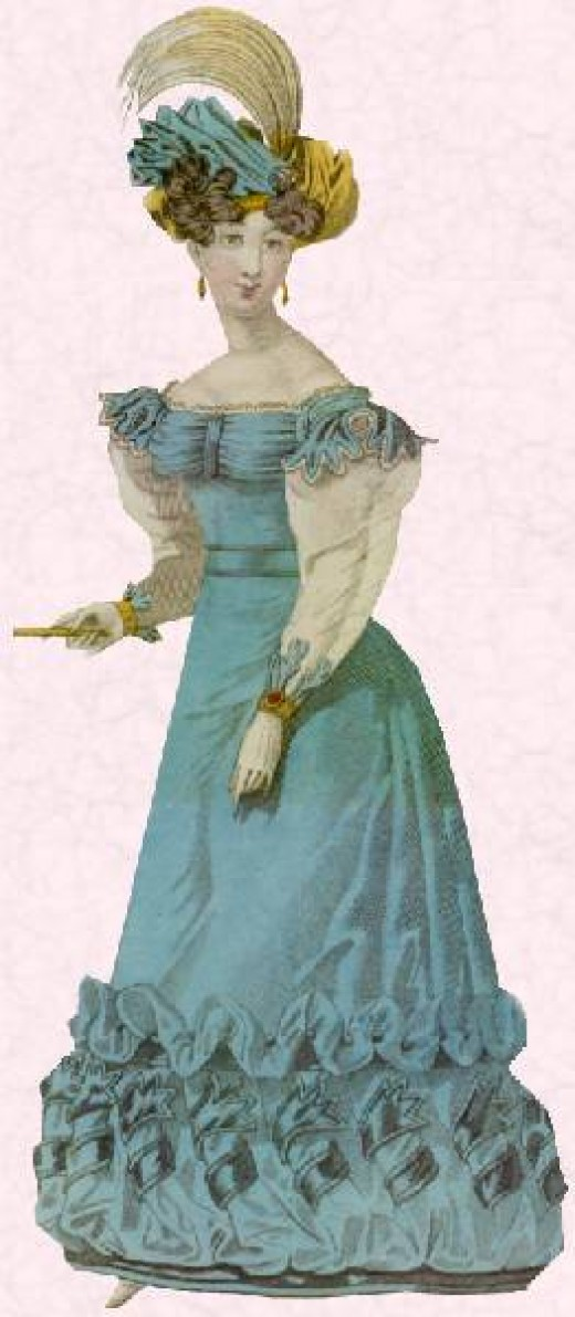 Fashion History Early 19th Century Regency And Romantic