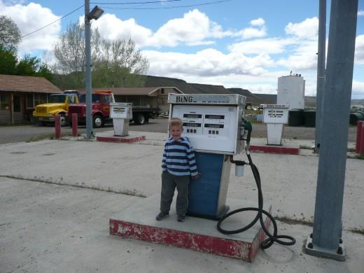 Rome Idaho Gas Pump
