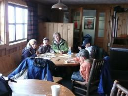 Lodge at Top of Jackson Hole Ski Resort - Waffles!