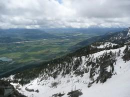 Tram View Jackson Hole Ski Resort - Early June
