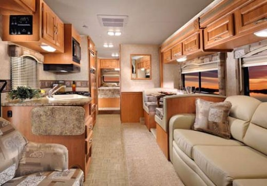 imagine this as you walk into your motor home..