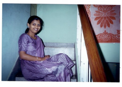 Smiling Aparna-one year prior to her death-in her 17th year