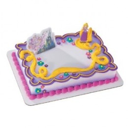 disney tangled rapunzel birthday cake and party supplies