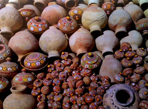 Pottery is a simple ethnic craft but has great market