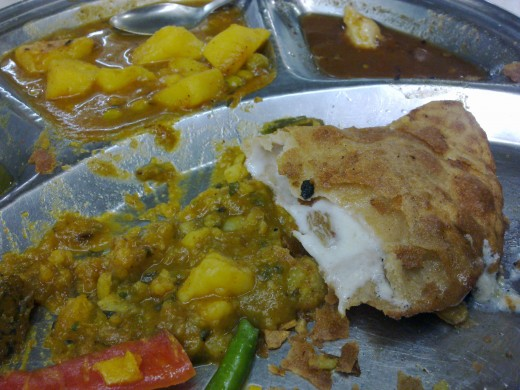 Khoya Parantha - Goodbye Sweets!