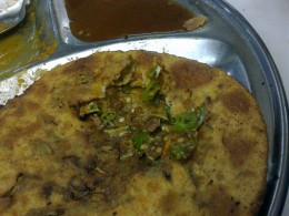 Ultra Hot Mirchi Parantha - Real Green Chillies Here!