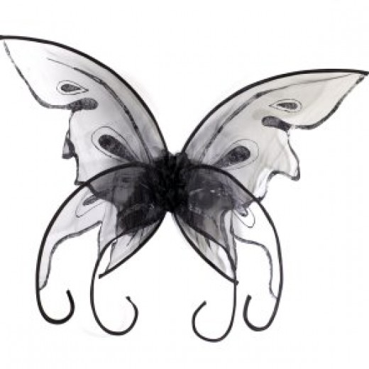 Black Butterfly Wings From BuyCostumes
