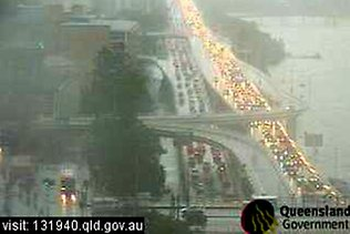 Evacuation in Brisbane