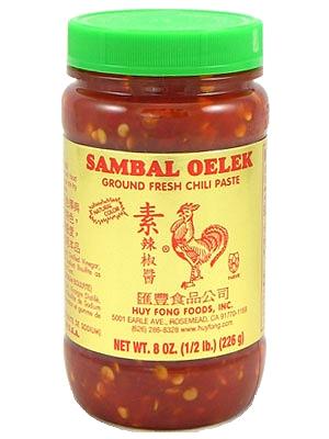 Secret Ingredient - Sambal Oelek