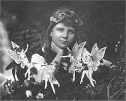 1rst photo shows Frances with dancing fairies