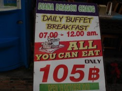Pattaya Buffet Breakfast Review