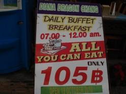 Pattaya Buffet Breakfast Review