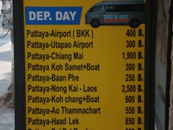 Pattaya To Chiang Mai By Bus
