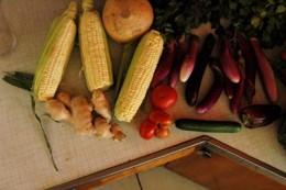 fresh bounty from the Hollywood Sunday farmer's market