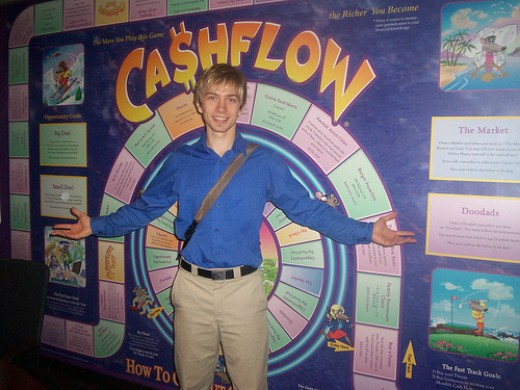 Many local real estate investment clubs host games of CashFlow each month.