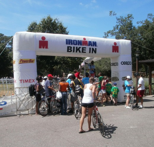 Florida 70.3 Half Ironman Bike Check-In