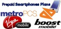 Compare Prepaid Smartphones: Metro PCS vs Virgin Mobile vs Boost Mobile