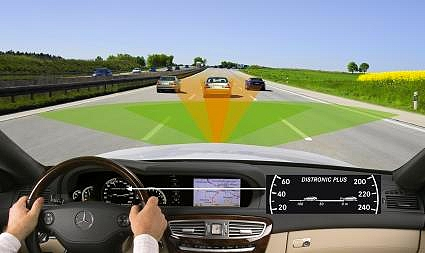 Mercedes Radar Device