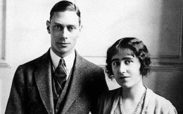 George VI and his wife Elizabeth