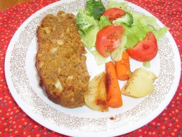 """My father-in-law told me, """"I know this isn't meat, but it's the best meatloaf I've ever eaten."""""""