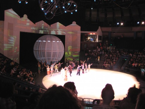 The Shanghai Acrobats show