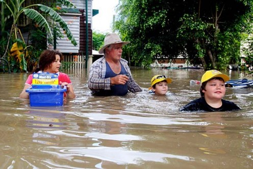 Three-quarters of the state of Queensland was declared a disaster zone. Communities along the Fitzroy and Burnett Rivers were particularly hard hit, while the Condamine, Ballone and Mary Rivers recorded substantial flooding.