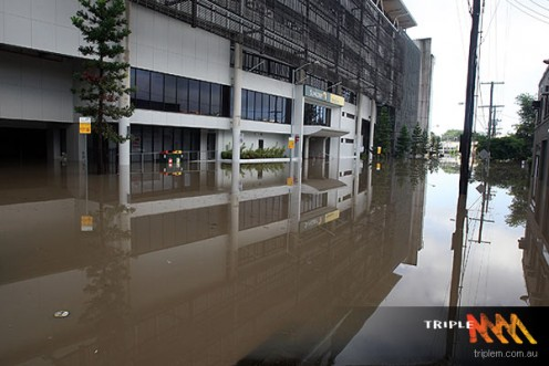 An unexpected flash flood raced through Toowoomba's central business district. Water from the same storm devastated communities in the Lockyer Valley. A few days later thousands of houses in Ipswich and Brisbane were inundated as the Brisbane River r