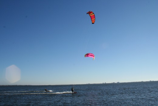 Wind Surfing in Florida