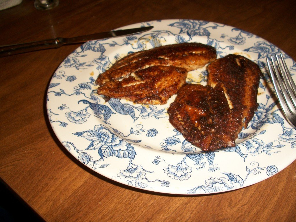 How to cook blackened fish for How to make blackened fish