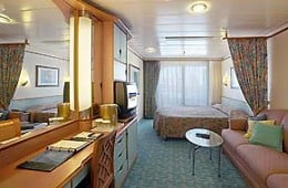 Balcony Cabin would be great especially on an Alaskan Cruise !