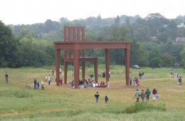 Giant chair sculptures, Hampstead Heath