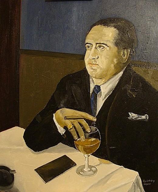 "Art Titled ""The Banker"""