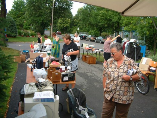 You can find great low price items at yard and garage sales.