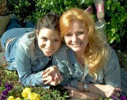 Mother & daughter writing team, P.C. Cast & Kristin Cast.