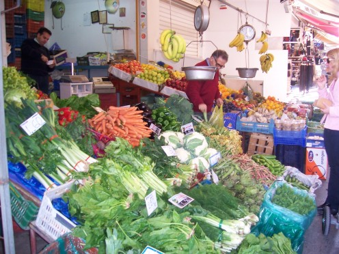 Market in Heraklion