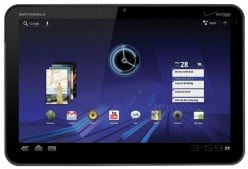 Motorola Xoom Poses a Serious Challenge to Apple's Ipad as Samsung's Tab Prepares to Land in the Turf