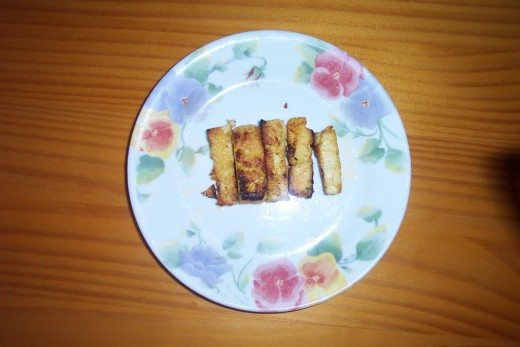 Fried Tofu Strips