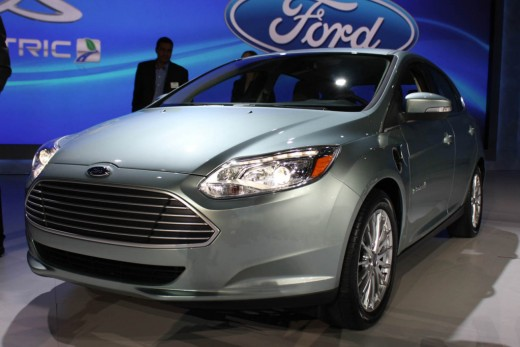 The Ford Focus all electric