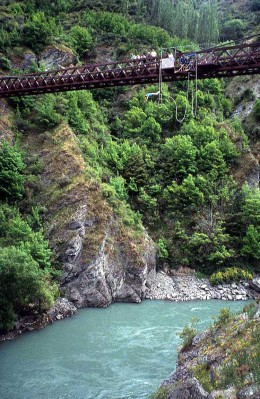 A favourite spot for bungy jumping
