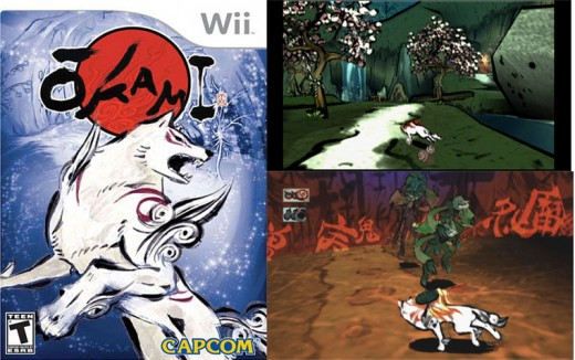 Wii Games to Play - Images from Okami
