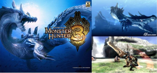 Wii Games to Play - Monster Hunter Tri