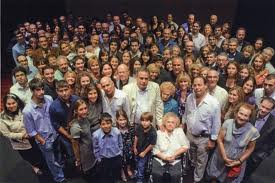 The children and grandchildren of those saved by the Bielskis.
