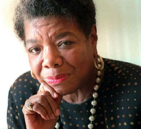 Everyone loves Maya Angelou because of her wit and wisdom