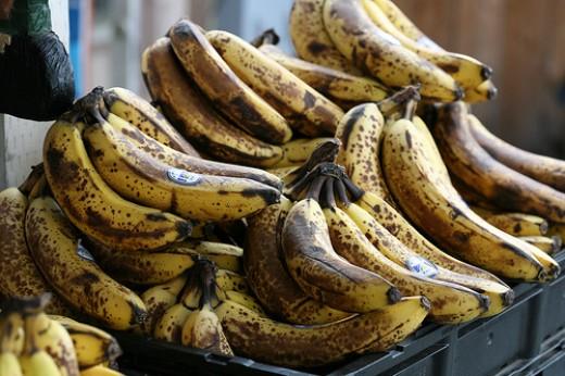 Extra-ripe Bananas