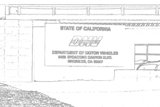 The California Department of Motor Vehicles... good luck!