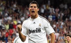 Ronaldo celebrating